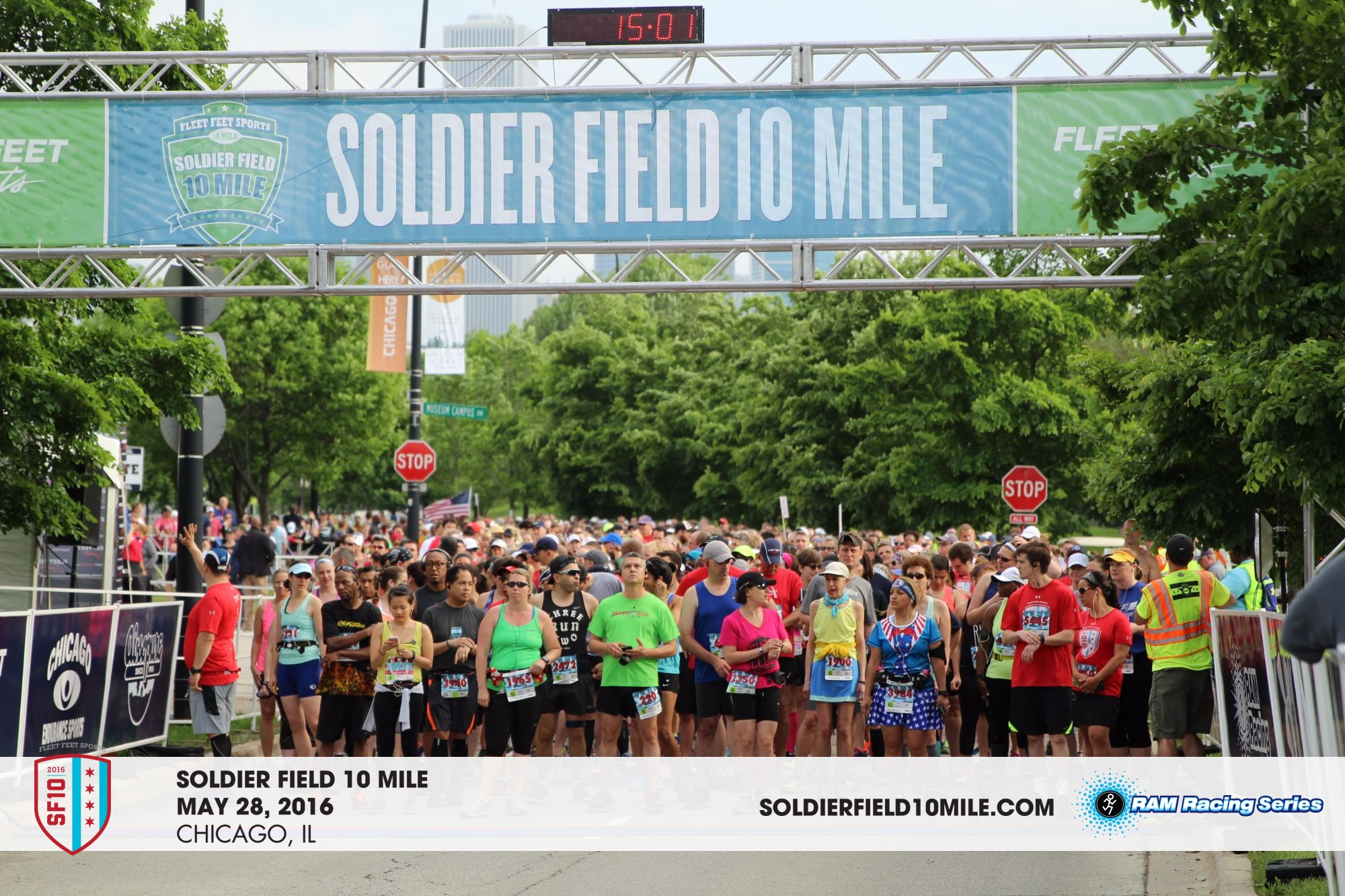 Soldier Field 10 Mile 2016